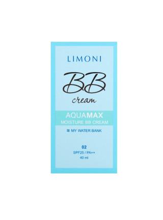 Увлажняющий ББ-крем для лица Aquamax Moisture BB Cream №2 SPF25/PA++, тон 2