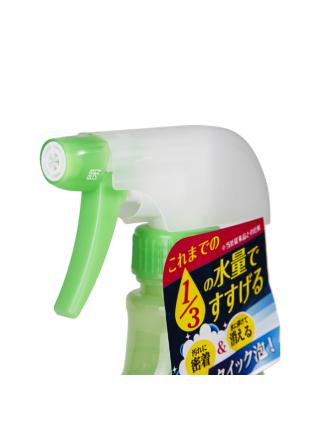 Чистящий спрей для ванной комнаты с ароматом свежей зелени