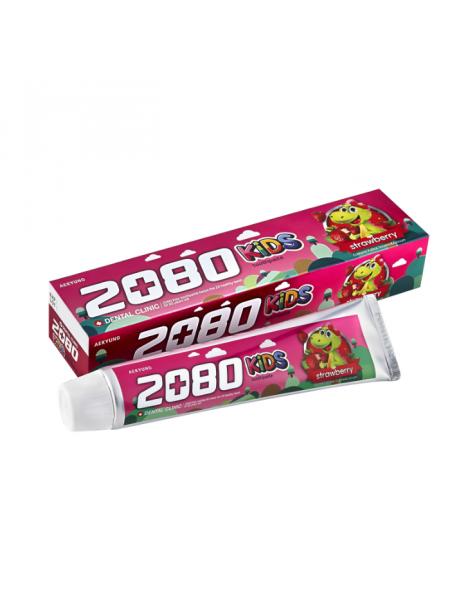 Детская зубная паста с клубничным вкусом