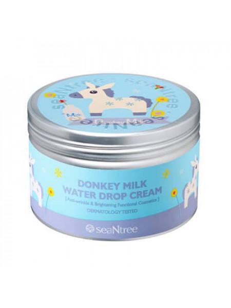 Крем для лица с молоком ослиц SeaNtree Donkey Milk Water Drop Cream (200 гр)