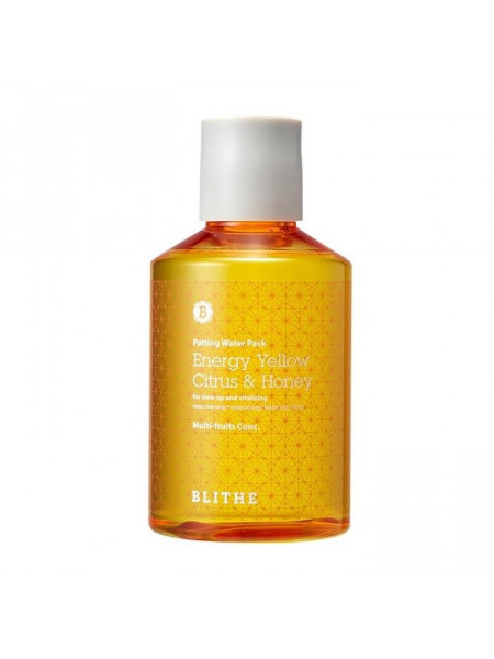Сплэш-маска для сияния Patting Splash Mask Energy Yellow Citrus & Honey