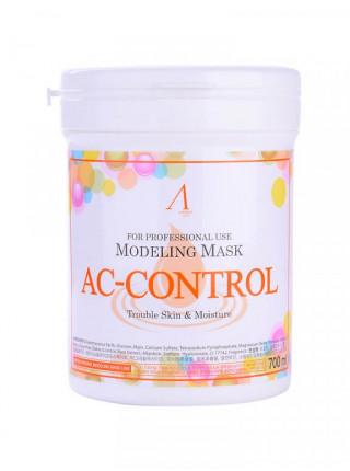 Альгинатная маска для проблемной кожи Anskin AC-Control Modeling Mask Мягкая упаковка: 1000 гр