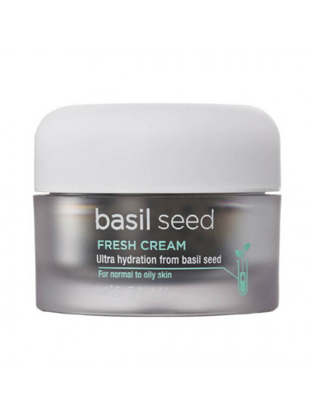 Гель для жирной кожи с базиликом It`s Skin Basil Seed Fresh Cream