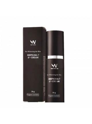 Ночной крем против пигментации с AHA-кислотами Wish Formula Depigma 7 а-Cream