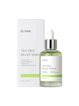 Сыворотка с чайным деревом для проблемной кожи iUnik Tea Tree Relief Serum
