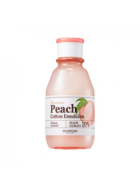 Матирующая персиковая эмульсия для лица Skinfood Premium Peach Cotton Emulsion
