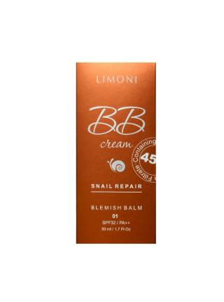 ББ-крем для лица с экстрактом муцина улитки, тон №2 Snail Repair Blemish Balm №2