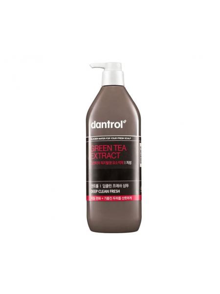 Шампунь-кондиционер для волос с экстрактом зеленого чая Dantrol Green Tea Extract Shampoo