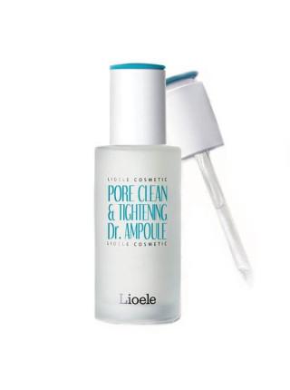Сыворотка для сужения пор Lioele Pore Clean & Tightening Dr. Ampoule Pore Control