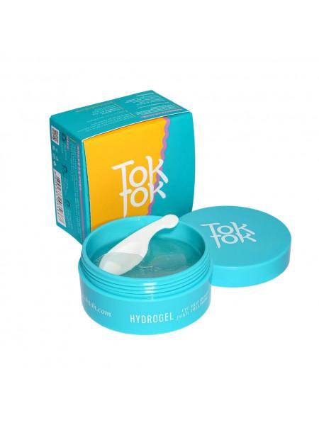 Гидрогелевые тонизирующие патчи для глаз TokTok Hydrogel Eye Patch Tone Up