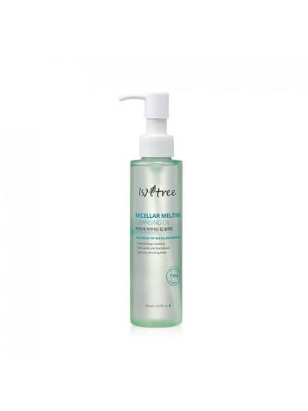 Мицеллярное гидрофильное масло для очищения кожи IsNtree Micellar Melting Cleansing Oil