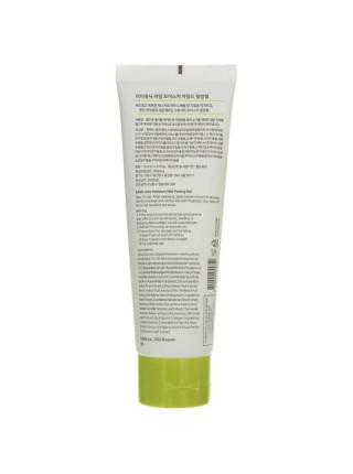Мягкий пилинг-гель с AHA-кислотами iUnik Lime Moisture Mild Peeling Gel