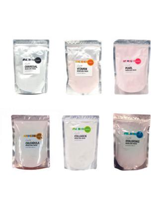 Альгинатные маски с ложкой-лопаткой Lindsay Crystal Modeling Mask Pack - С гиалуроновой кислотой (Hyaluronic)