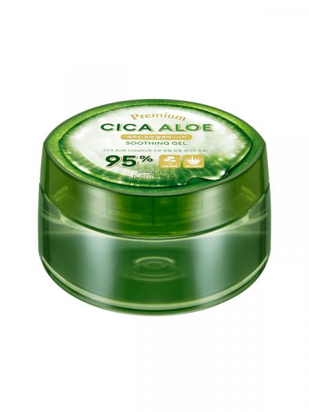 Многофункциональный гель с алоэ и центеллой Missha Premium Cica Aloe Soothing Gel 95%