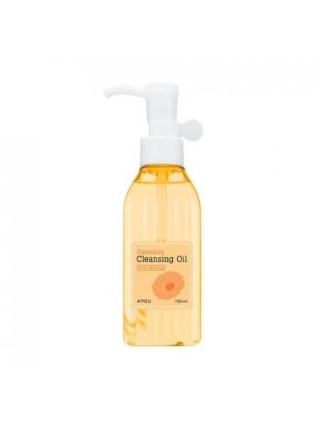 Антибактериальное гидрофильное масло A'Pieu Calendula Cleansing Oil