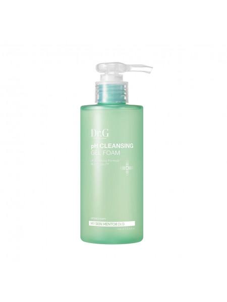 Слабокислотный гель для чувствительной кожи Dr.G pH Cleansing Gel Foam