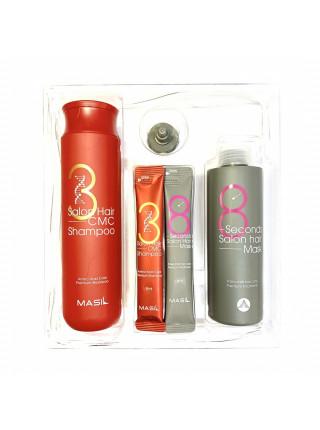 Набор для восстановления волос с кератином и коллагеном Masil Salon Hair Set