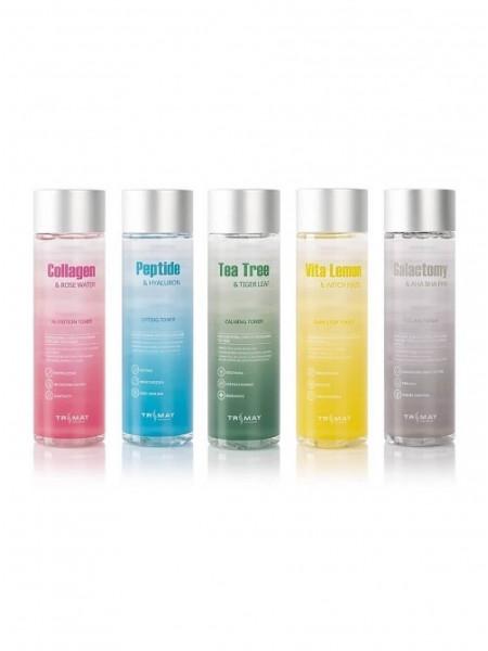 Увлажняющие тонеры для лица Trimay Collagen Rose Water Nutrition Toner