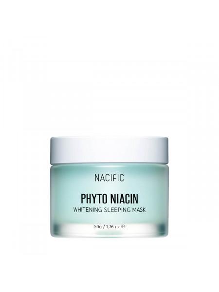 Осветляющая ночная маска с ниацином Nacific Phyto Niacin Whitening Sleeping Mask