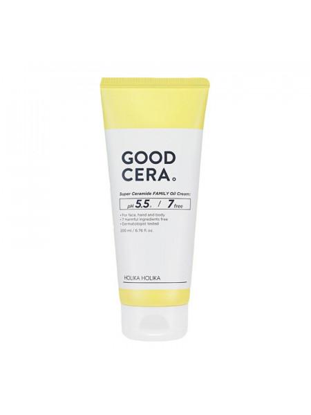 Универсальный крем для лица и тела Good Cera Super Ceramide Family Oil Cream