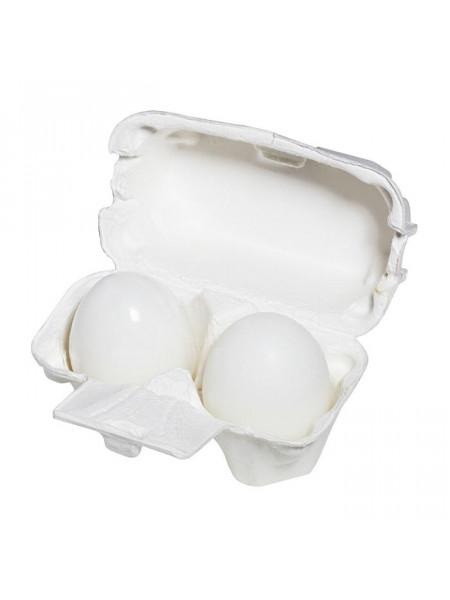 Мыло-маска ручной работы c яичным белком Egg Soap White (50g *2)