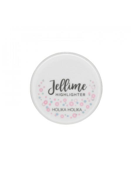 Хайлайтер-зефир 19 Joyful Holika Jellime Highlighter 01 feel so candy, тон 01, розовый