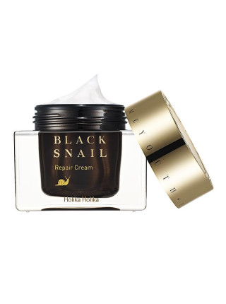 Восстанавливающий крем с муцином черной улитки Prime Youth Black Snail Repair Cream