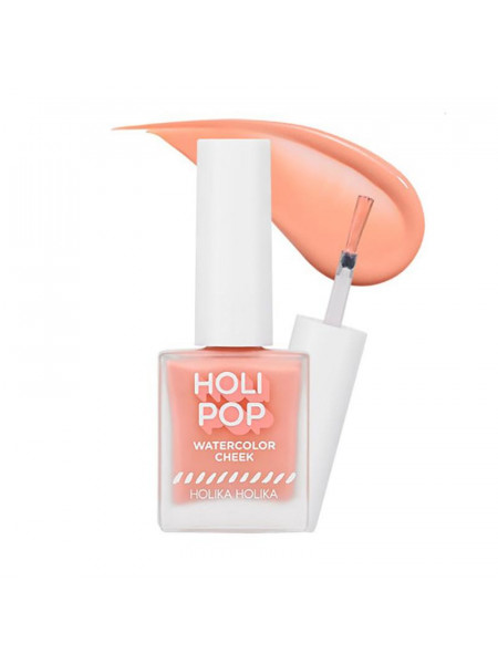 Жидкие румяна Holi Pop Water Color Cheek CR03, персиковый