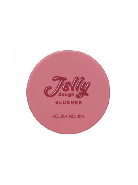 Гелевые румяна Jelly Dough Blusher 05 Rose, темно-розовый