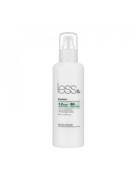 Увлажняющая эмульсия против покраснений и акне Less On Skin Emulsion