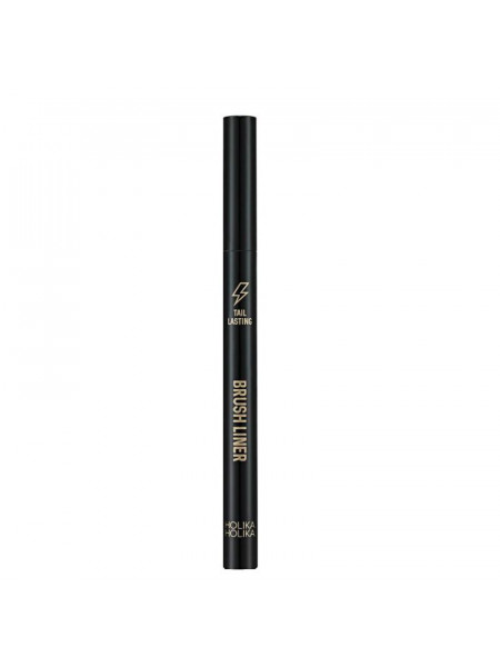 Подводка для глаз, тон 01, черная Tail Lasting Brush Liner 01 real black