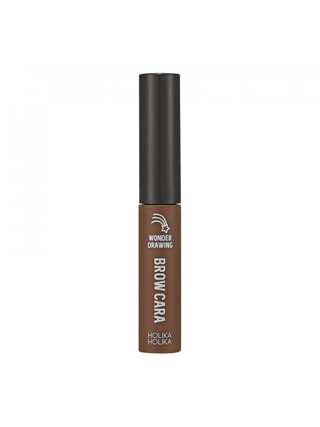 Тушь для бровей Wonder Drawing 1 Sec Finish Browcara 06 Choco Brown, шоколадно-коричневый