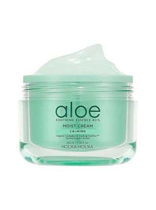 Увлажняющий крем для лица Aloe Soothing Essence 80% Moisturizing Cream 100ml