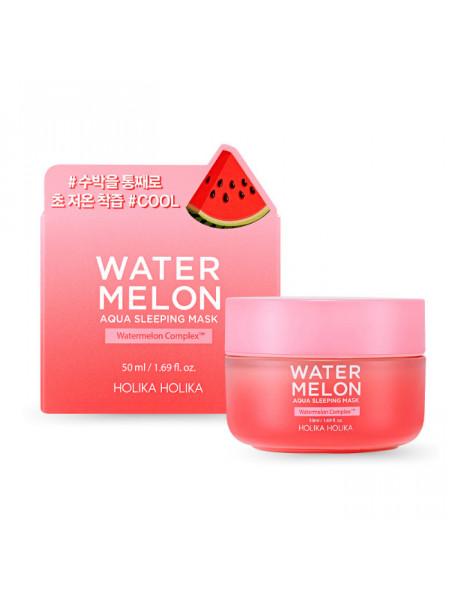 Увлажняющая ночная маска с экстрактом арбуза Water Melon Aqua Sleeping Mask